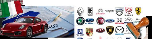 Certificato di conformità dell'automobile importata