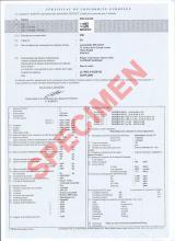 Certificato di conformità Peugeot