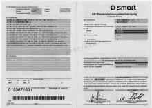 Certificato di conformità Smart